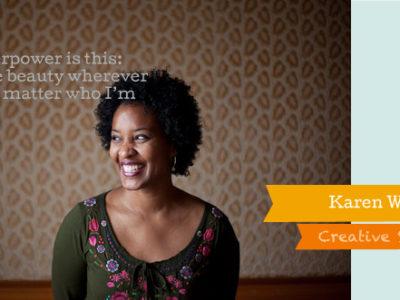 Creative Superheroes Interview: Karen Walrond