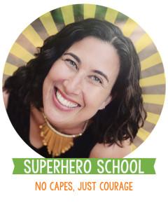 andrea_sunburst circle_superhero school