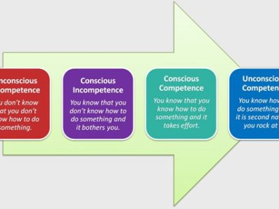 The learning cycle + the messy middle.