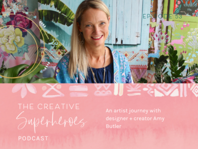 CSP #53: On being a multi-passionate artist with designer Amy Butler