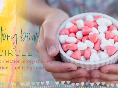Storybowl Circle – Pay what you can sweet peas!