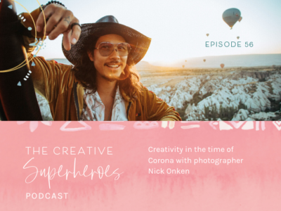 CSP #56: Creativity + healing in the time of Corona with Nick Onken