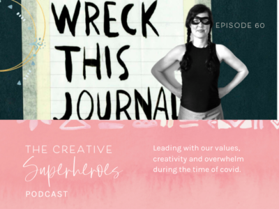 CSP #60: Values led creativity with author Keri Smith